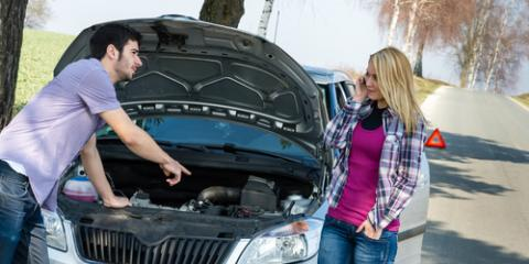 Towing Company Lists Car Breakdown Do's & Don'ts for Teenagers, Ewa, Hawaii