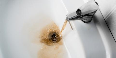 Plumber Tips: Brown Water & What to Do About It, Mebane, North Carolina