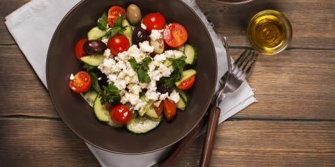 3 Health Benefits of Eating Greek Salad, New York, New York