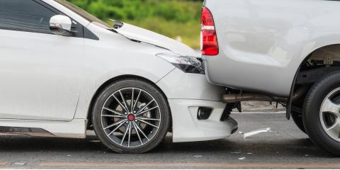 5 Types of Car Damage After a Rear-End Collision, Lexington-Fayette Central, Kentucky