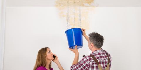 Roofing Service Professional Shares 3 Steps to Take After a Leak, Snow Hill, Missouri