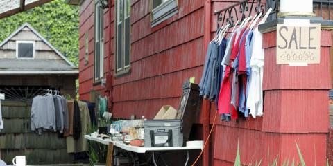 How to Prepare for a Yard Sale, Lake Katrine, New York