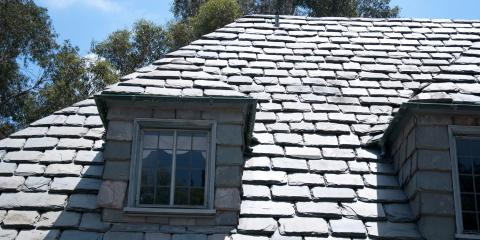 Insurance Adjusters Share 3 Benefits of Slate Roofing, South Jefferson, Colorado