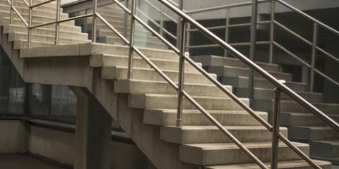 Pre Cast Vs. Poured In Place Cement Stairs   Olson Precast ...