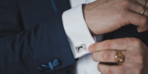 3 Tips for Wearing Cufflinks, ,