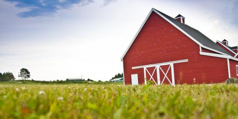 Why Are Barns So Often Red?, Savannah, Tennessee