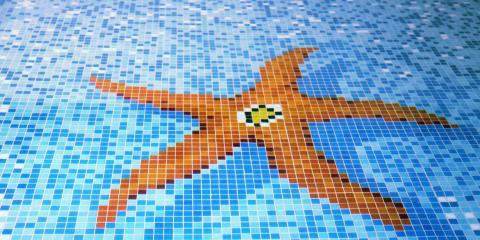 Beautify Your Swimming Pool With Mosaic Floor Tile, Lihue, Hawaii