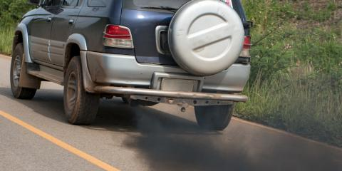 What Does the Color of My Car Exhaust Mean?, Bluefield, West Virginia