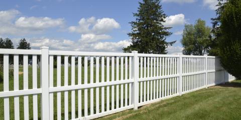 Top 3 Benefits of Vinyl Fences, Green, Ohio