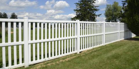 How to Pick the Best Fencing for Your Yard, Fargo, North Dakota