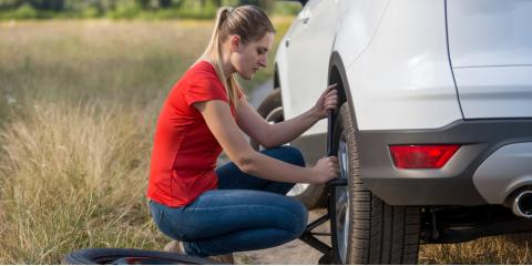 Vehicle Maintenance Tip: 7 Steps to Changing a Flat Tire, Anchorage, Alaska