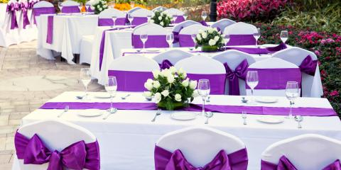 How to Choose Linen Colors for Your Wedding, Columbus, Ohio