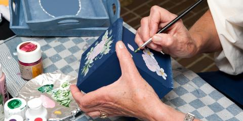 5 Craft Ideas For Seniors and In Home Health Aides, Wentzville, Missouri