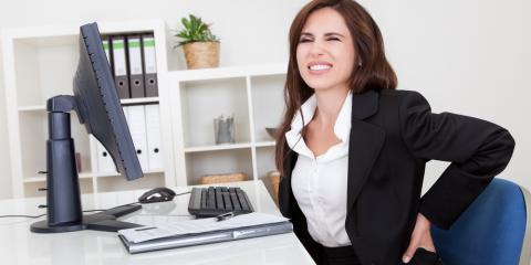 Sit at a Desk All Day? 3 Easy Ways to Avoid Back Pain, St. Peters, Missouri