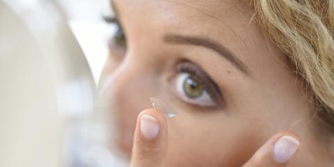 How to Apply Contact Lenses if You're Afraid to Touch Your Eyes, Anchorage, Alaska