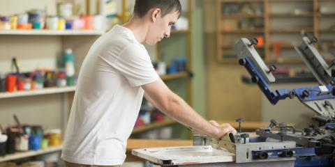What's the Difference Between Screen Printing & Embroidery?, Edgewood, Ohio