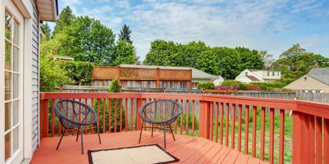 How to Decorate a Smaller Deck, Lincoln, Nebraska