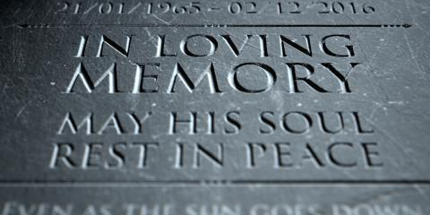 3 Ways Custom Engraving Can Add a Personal Touch to a Headstone, Mount Orab, Ohio
