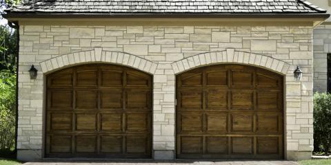 3 Benefits of Wood Garage Doors, Milford, Connecticut