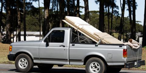 How to Secure a Load in a Pickup Truck, Honolulu, Hawaii