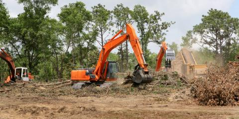 4 Machines Used During Land Clearing, Eleele-Kalaheo, Hawaii