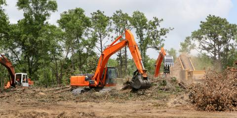The Heavy Equipment Used for Land Clearing, ,