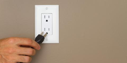 Electrical Contractor Explains How to Deal With a Wet Electrical Outlet, West Sanford, North Carolina