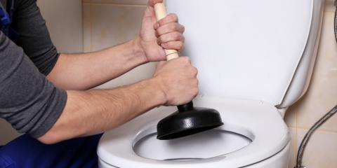 4 Common Reasons for a Clogged Toilet, Hempstead, New York