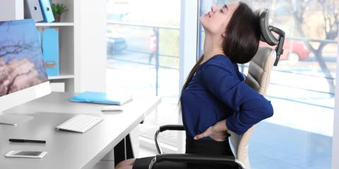 A Chiropractor Offers 3 Tips for Improving Posture at the Office, Fishersville, Virginia