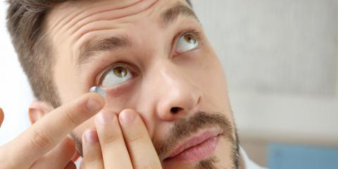 Eye Doctor Reveals 3 Common Mistakes Made by Contact Lens Users, Cold Spring, Kentucky