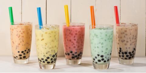 3 Tasty Toppings to Add to Bubble Tea, Honolulu, Hawaii