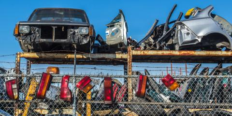 4 Benefits of Buying Salvaged Auto Parts, Brown, Ohio