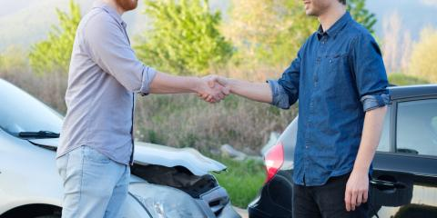 5 Steps to Take After a Fender Bender, West Mead, Pennsylvania