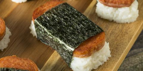 What Is SPAM® Musubi?, Hilo, Hawaii