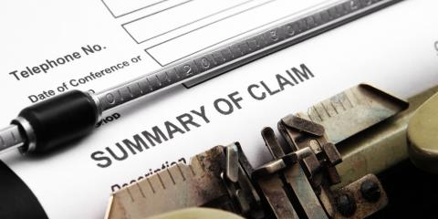 How to File a Personal Injury Claim , Middlebury, Connecticut