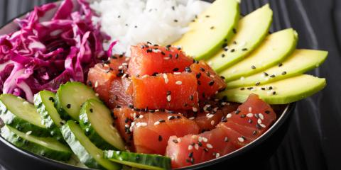 What You Should Know About Poke Bowls, Wailuku, Hawaii