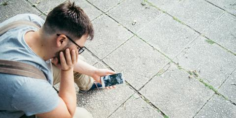 3 Steps to Take When Your Phone Has a Cracked Screen, Flower Mound, Texas