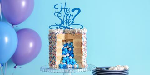 3 Delicious Pastry Ideas for a Gender Reveal Party, Flemingsburg, Kentucky
