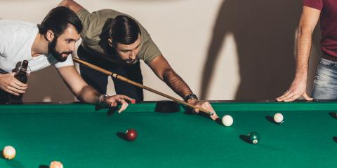 How to Spin Cue Balls While Playing Pool, Foley, Alabama