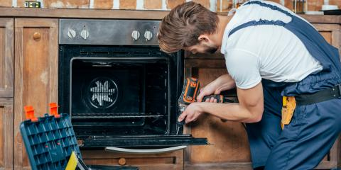 3 Signs You Need Oven Repair, Delhi, Ohio