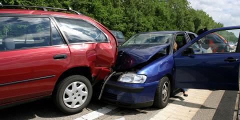 3 Common Types of Collision Damage, Covington, Kentucky