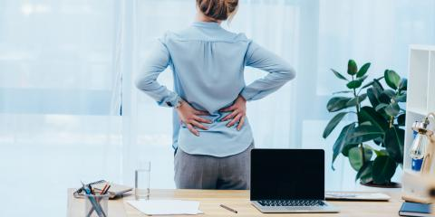 4 Tips for Relieving Back Pain at Work , Juneau County, Alaska