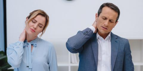 3 Stretches to Relieve Neck Pain at Work, Mendota Heights, Minnesota