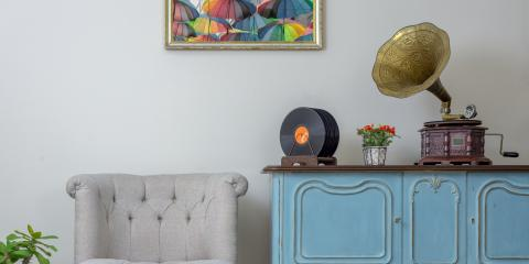 A Guide to Decorating With Vinyl Records, Nashville-Davidson, Tennessee