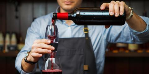 What's the Difference Between Decanting & Aerating Wine?, ,