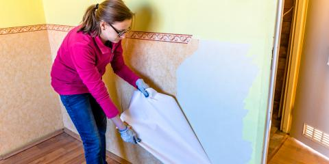 3 Reasons to Switch From Wallpaper to Paint, Lindsay, Oklahoma