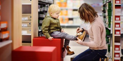 A Helpful Trick for Measuring Kids' Shoe Sizes, Enterprise, Nevada