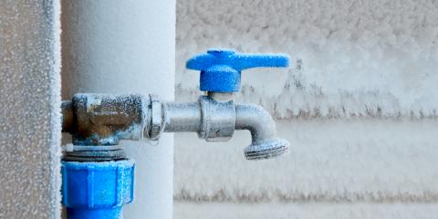 4 Signs of Frozen Pipes & Potential Water Damage, Kalispell, Montana