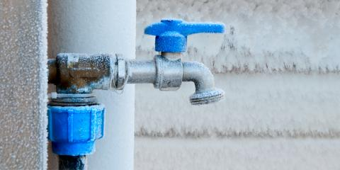 Your Plumbing Guide to Frozen Pipes, West Crossett, Arkansas