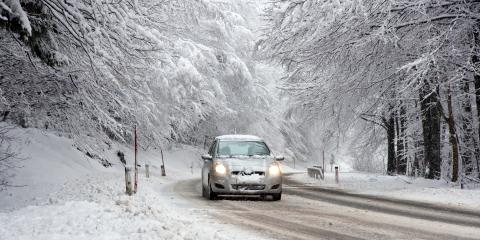 How Stay Safe on the Road This Winter, Medary, Wisconsin